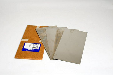 "Stainless Steel Assortment 6"" x 12"" 12 Pak S10801"