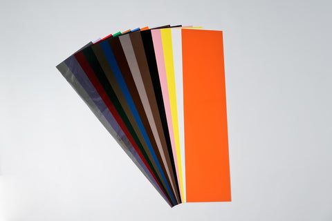 "Plastic Shim Stock  5"" x 20"" 14 piece Assortment S80018"