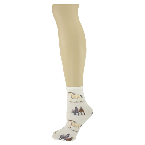 Horse Country </br>Women's Ankle Socks
