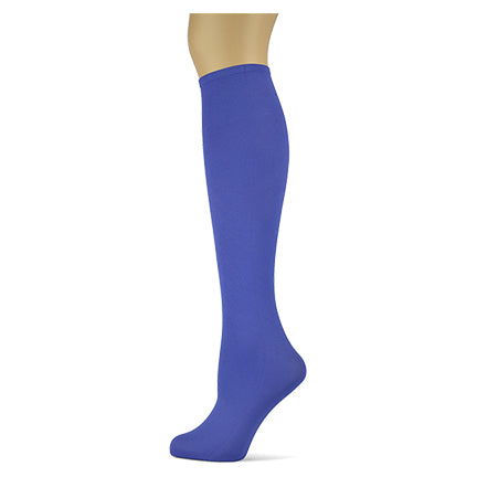 Periwinkle </br>Women's Solid Knee High Socks