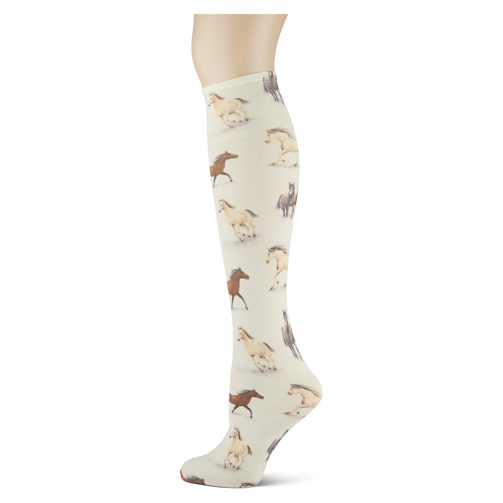 Horse Country Women's Knee High Socks
