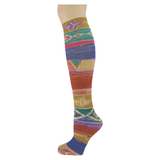 Out West </br>Women's Knee High Socks