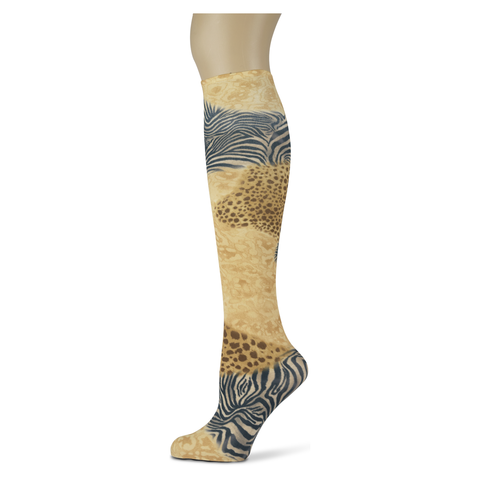 Patchwork Zoo </br>Women's Knee High Socks