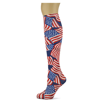 Stars And Stripes </br>Women's Knee High Socks