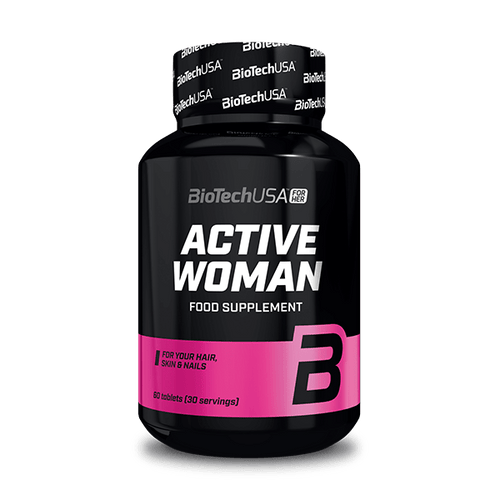 Active Woman - 60 tabletta - BioTechUSA