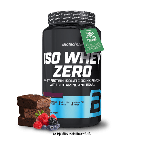 Iso Whey Zero - berry brownie 908 g - BioTechUSA
