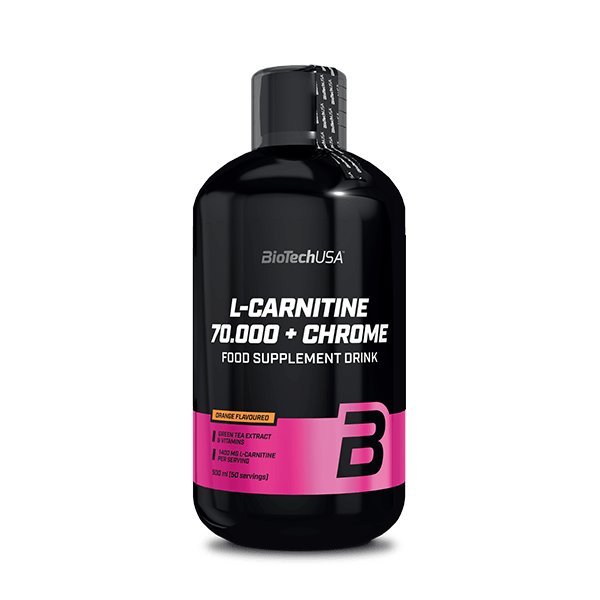L-Carnitine 70.000 mg + Chrome - 500 ml