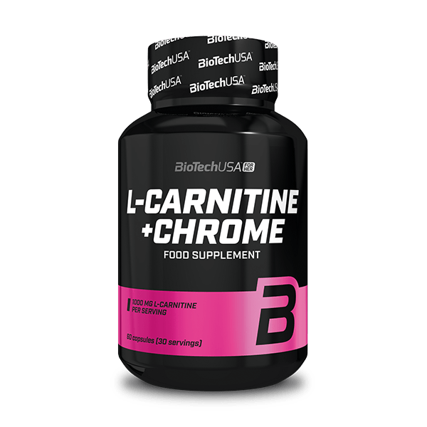 L-Carnitine + Chrome - 60 kapszula