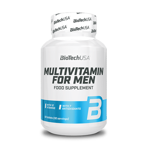 Multivitamin for Men - 60 tabletta - BioTechUSA