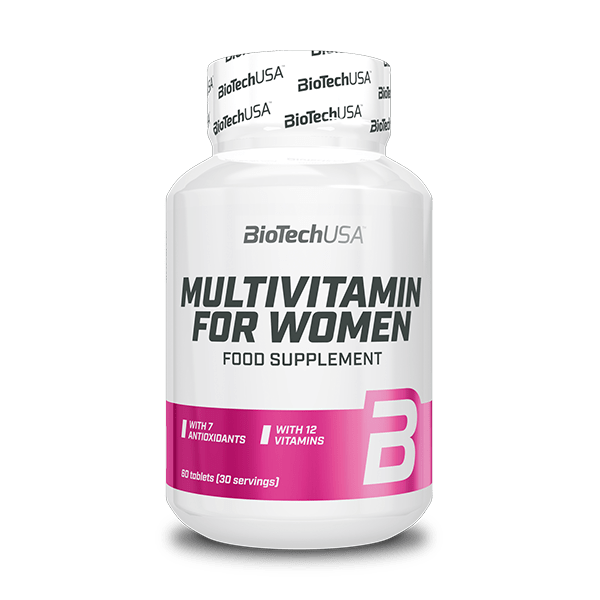 Multivitamin For Women tabletta – 60db tabletta