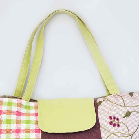 Purse Impressions bag flap & strap