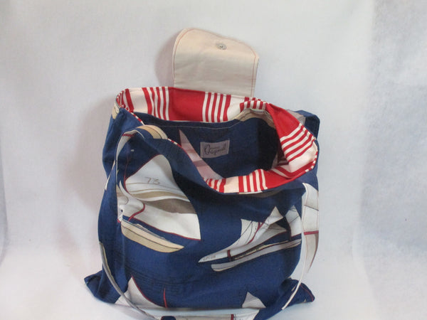 Nantucket Bucket ( navy )
