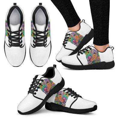 Labrador Design Women's Athletic Sneakers - Dean Russo Art - Jill 'n Jacks