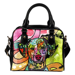 Dalmatian Shoulder Handbag - Dean Russo Art - Jill 'n Jacks