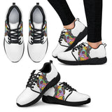 Boston Terrier Design Women's Athletic Sneakers - Dean Russo Art - Jill 'n Jacks