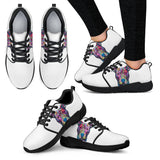 Pitbull Design Women's Athletic Sneakers - Dean Russo Art