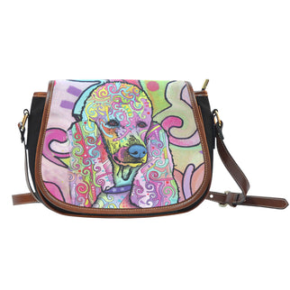 Poodle Saddle Bag - Dean Russo Art