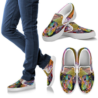Great Dane Design Women's Slip Ons - Dean Russo Art