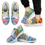 Chihuahua Design Men's Athletic Sneakers - Dean Russo Art - Jill 'n Jacks