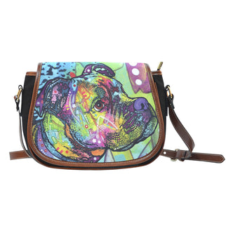 Boxer Saddle Bag - Dean Russo Art