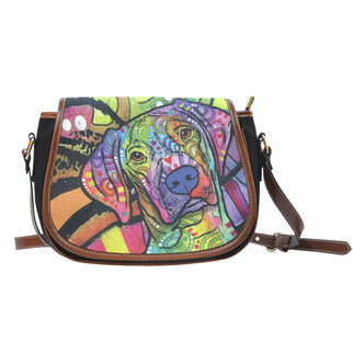 Vizsla Saddle Bag - Dean Russo Art