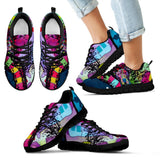 Pitbull Design Kids Sneakers - Dean Russo Art - Jill 'n Jacks