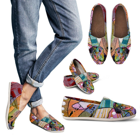 Great Dane Design Women's Casual Shoes- Dean Russo Art