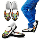 Chihuahua Design Kids Slip Ons - Dean Russo Art