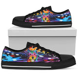 Westie Women's Low Top Canvas Shoes - Dean Russo Art - Jill 'n Jacks