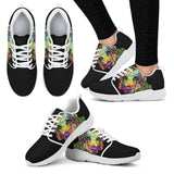 Beagle Design Women's Athletic Sneakers - Dean Russo Art