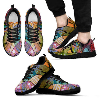Great Dane Design Men's Sneakers - Dean Russo Art - Jill 'n Jacks