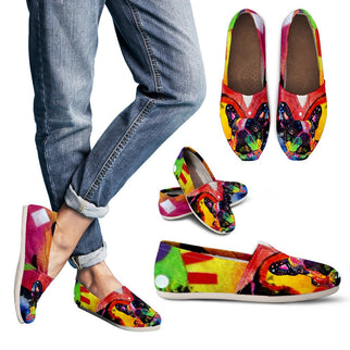 French Bulldog Design Women's Casual Shoes - Dean Russo Art - Jill 'n Jacks