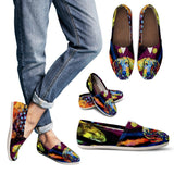 Dachshund Design Women's Casual Shoes - Dean Russo Art - Jill 'n Jacks