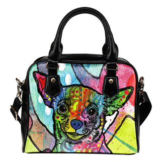 Chihuahua Shoulder Handbag - Dean Russo Art - Jill 'n Jacks