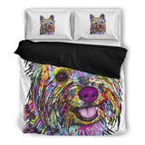 Cairn Terrier Bedding Set - Duvet Cover and Two Pillowcases - Dean Russo Art - Jill 'n Jacks