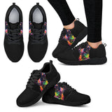 French Bulldog Design Women's Athletic Sneakers - Dean Russo Art
