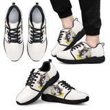 Husky Design Men's Athletic Sneakers - Dean Russo Art