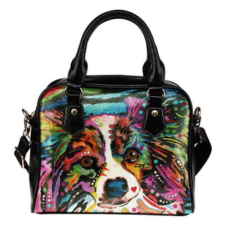 Papillon Shoulder Handbag - Dean Russo Art