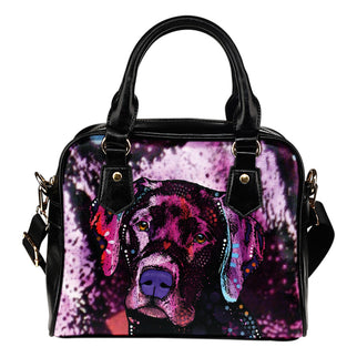 Labrador Shoulder Handbag - Dean Russo Art