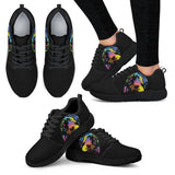 Labrador Design Women's Athletic Sneakers - Dean Russo Art