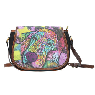 Irish Setter Series Saddle Bag - Dean Russo Art