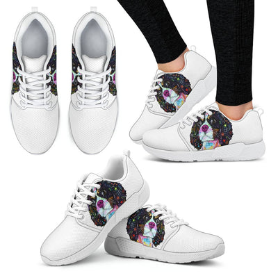 Cavalier King Charles Spaniel Design Women's Athletic Sneakers - Dean Russo Art - Jill 'n Jacks
