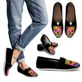 Pomeranian Design Women's Casual Shoes - Dean Russo Art
