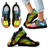 Chihuahua Design Kids Sneakers - Dean Russo Art - Jill 'n Jacks