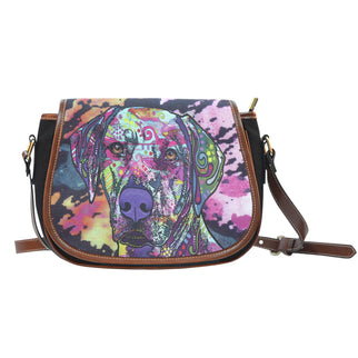 Rhodesian Ridgeback Saddle Bag - Dean Russo Art