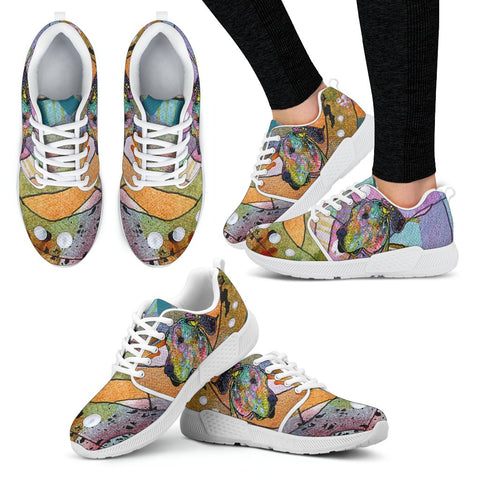 Great Dane Design Women's Athletic Sneakers - Dean Russo Art