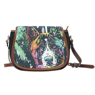 Akita Saddle Bag - Dean Russo Art - Jill 'n Jacks