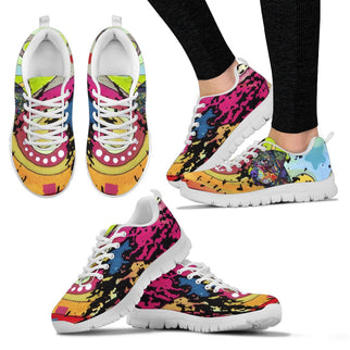 Rottweiler Design Women's Sneakers - Dean Russo Art - Jill 'n Jacks