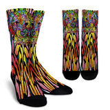 Labradoodle Series Design Crew Socks - Dean Russo Art - Jill 'n Jacks