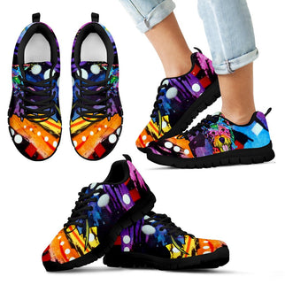 Westie Design Kids Sneakers - Dean Russo Art - Jill 'n Jacks